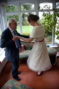 dancing with grandad 2011
