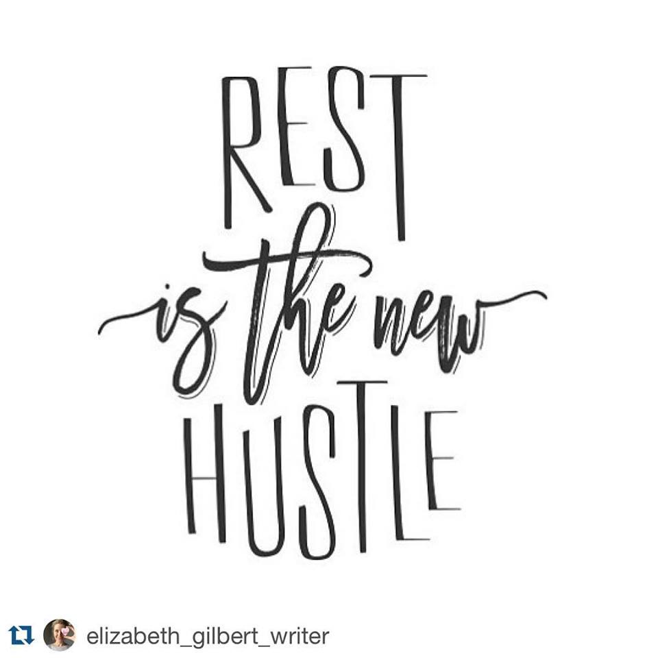rest is the new hustle