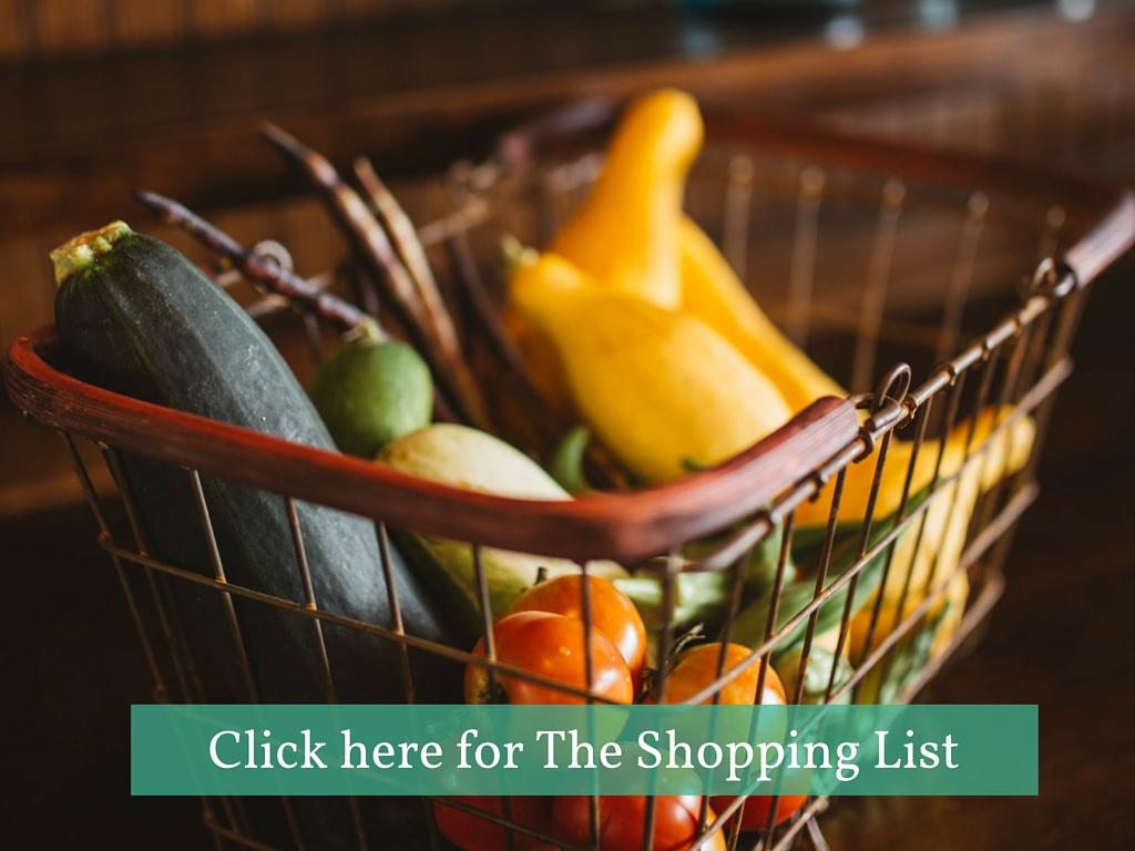 Click here for the shopping list