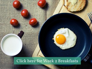 Click here for Week 2 Breakfasts